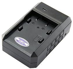 STK's JVC BN-V306 Battery Charger - For JVC BN-V306, BN-V306U, BN-V312U Batteries and these JVC Camcorders: GR-DVM76, GR-DVM76U, GR-DVM96, GR-DVM96U, GR-DVX400, GR-DVX400EG, GR-DVX407, GR-DVX407EG, GR-DVX408, GR-DVX507EG, GR-DVX509, GR-DVX600K, GR-DVX707,