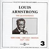echange, troc Louis Armstrong - Louis Armstrong : New York - Chicago - Boston (1947-1952) /Vol.3