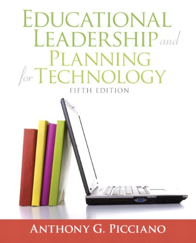 Educational Leadership and Planning for Technology (5th...