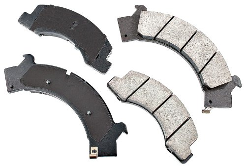 Akebono ACT675 ProACT Ultra-Premium Ceramic Brake Pad Set