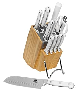 Chicago Cutlery Cabrera 12-Piece Knife Set with Block