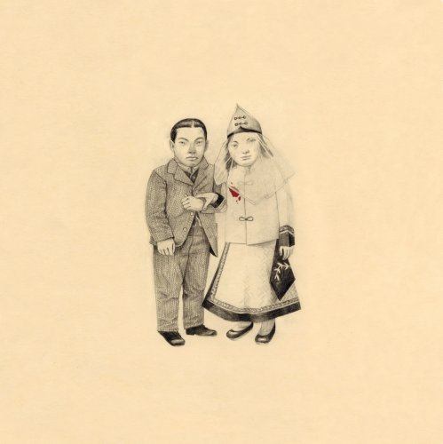 Original album cover of The Crane Wife by The Decemberists
