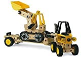 BRIO 34534 Builder System: Construction Vehicles Set (244 Pieces)