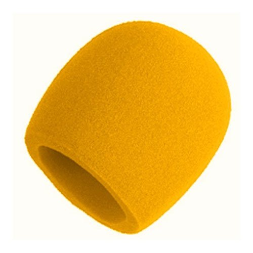Shure A58Ws-Yel Foam Windscreen For All Shure Ball Type Microphones, Yellow