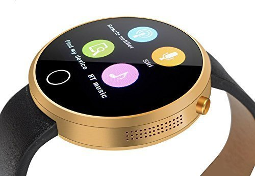 EFOSHM Smart Watch for Android smartphones Silver golden