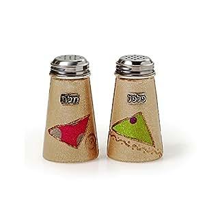 Salt And Pepper Shakers Set Lily Art Salt