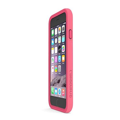 best service a2b72 4b14c iPhone 6s Case - RhinoShield CrashGuard Bumper [Pink] - Thin - Import It All