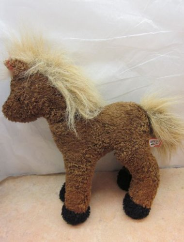 "DOUGLAS Cuddle Toy 8"" Brown Horse Plush - 1"