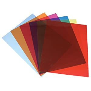 Amazon.com : Tinted Plastic Reading Sheets, Set of 5 : Low