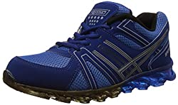 Steemo Men's Navy and Blue Running Shoes - 10 UK/India (44 EU)(STM1023)