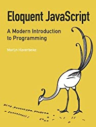 Book cover for Eloquent JavaScript: A Modern Introduction to Programming