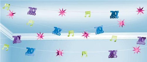 Disco Party Value String Decoration - Each - 1