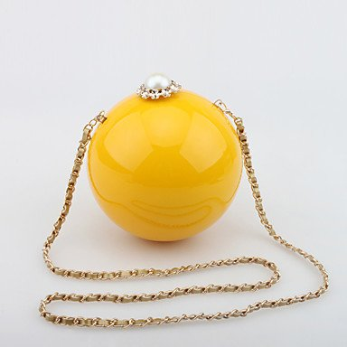 jhs-womens-handmade-pearl-diamond-acrylic-ball-evening-bag-yellow