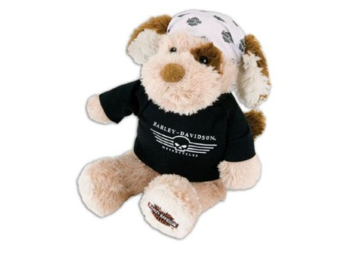 Harley-Davidson® Kickstand Jr. Stuffed Teddy