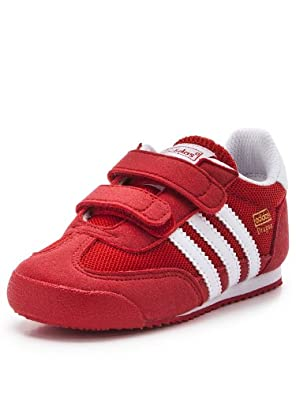 Buy Adidas Dragon CF Infant Boy's Sneakers Red Running White D67702 by adidas