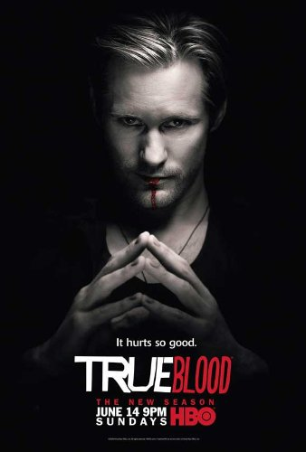 alexander skarsgard true blood poster. Title: True Blood Season 2 Poster TV Alexander Skarsgard Eric 11x17 Jim