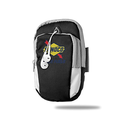 sunoco-race-fuel-logo-pratical-black-outdoor-sports-arm-package-bag