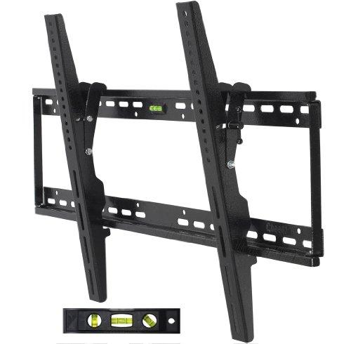 Cheetah Mounts APTMLB Plasma LCD TV Tilt Wall Mount for Large Displays 40 to 63-Inch and Vesa 800 Displays (Black)