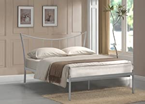 4ft Double Adelina Metal Bed from BEDZONLINE