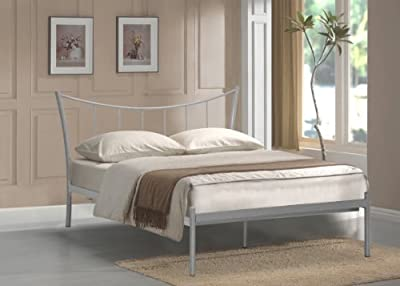 4ft Small Double Adelina Metal Bed