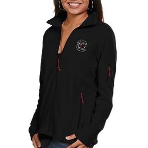 NCAA South Carolina Fighting Gamecocks Ladies Give and Go Full Zip Fleece Jacket. by Columbia