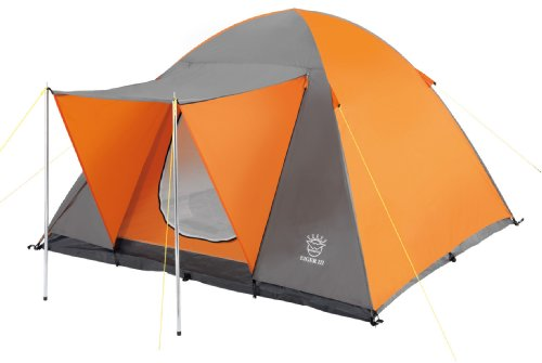Wehncke 15821 - Tenda da campeggio Eiger Iii, 55 x 15 x 15 cm, colore: Arancione