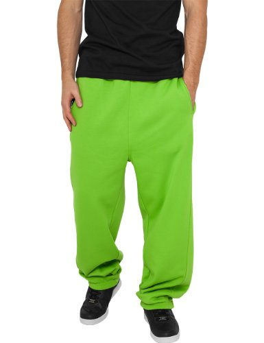 Urban Classics - Bekleidung Sweatpants, Pantaloni sportivi Uomo, Verde (Limegreen), X-Large (Taglia Produttore: X-Large)