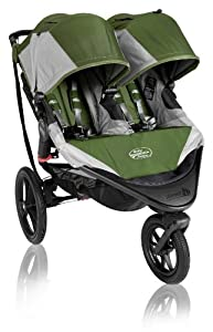 Baby Jogger Summit X3 Double Stroller, Green by BaJogger