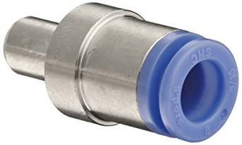 SMC KDMP-08 PBT Multi-Connector Plug, 8 mm Tube OD