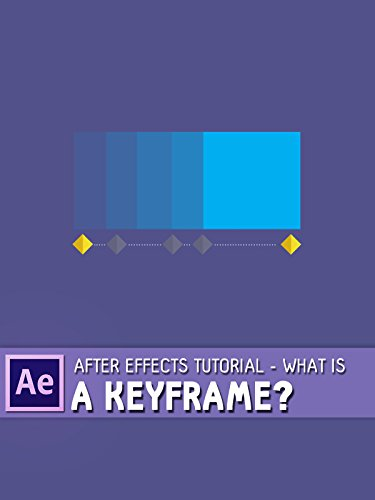 After Effects Tutorial - What Is A Keyframe ?