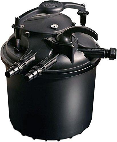 Sicce Stagno pressione Green Filter reset 25, Nero, 4.000 litri / ora