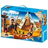 Playmobil SuperSet Native American Camp