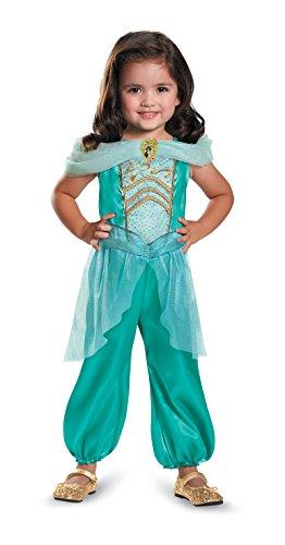 [DIS82893 (2T) Jasmine Toddler Costume Classic] (Princess Jasmine Costumes Tiara)