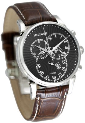 Millage Hampton Black on Silver