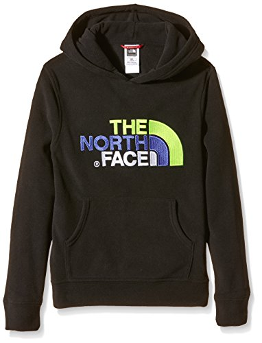The North Face 100 Drew Peak con cappuccio, unisex, 100 Drew Peak Pull-Over, Nero, M