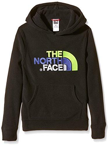 The North Face 100Drew Peak con cappuccio, unisex, 100 Drew Peak Pull-Over, Nero, M