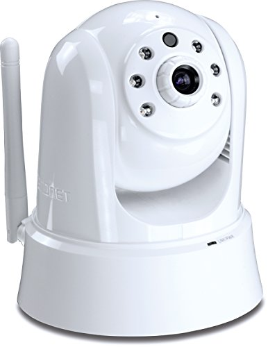 TRENDnet Indoor/Outdoor (TV-IP662WI) Megapixel Indoor Wireless PTZ IP Camera,  with 1.3 Megapixel 720p HD Resolution, 4x Digital zoom,  25 feet Night Vision, ideal for monitoring your Home/Baby/Petcam, Samba or Micro SD Card slot, Digital WDR, Secu, Free App for Android, and IOS, ONVIF, IPv6 Compliant (Home Patrol Mounting Bracket compare prices)