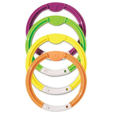 Dive Rings (Set of 4) by Poolmaster - 1