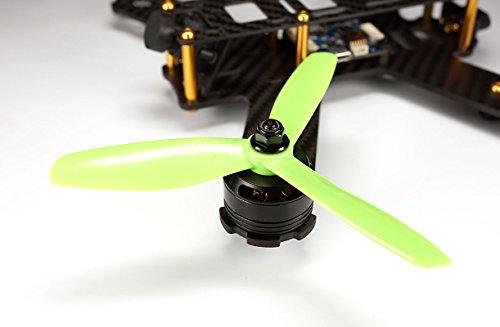 5x45x3-SCHUBKRAFT-3-Blatt-Race-Propeller-AKA-Indestructible-5045-CW-CCW-2-Paar