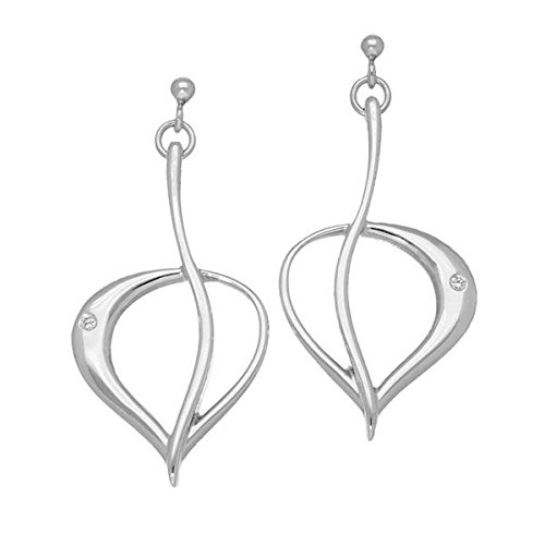 Ortak Leah Silver Earrings DE117 Diamond