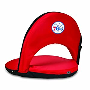 NBA Philadelphia 76ers Oniva Portable Reclining Seat, Red by Picnic Time