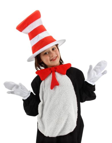 elope Dr.Seuss Cat In The Hat Kid's Accessory Costume Kit
