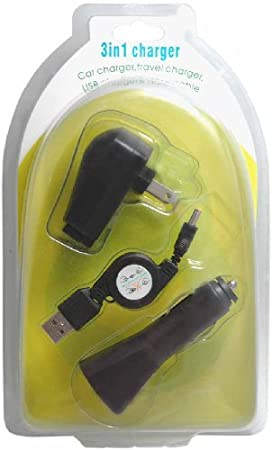 CrazyOnDigital Sony PSP 3000 Charger Kit. CrazyOnDigital Retail Package