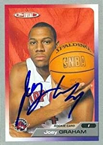 Joey Graham Autographed Hand Signed Basketball Card (Toronto Raptors) 2006 Topps... by Hall of Fame Memorabilia