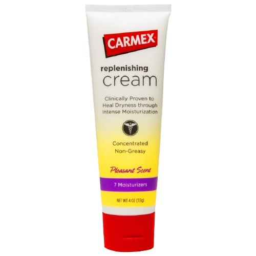 Carmex Replenishing Cream for Dry Skin - 4 Oz, 4 Pack