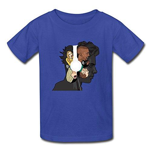 xj-cool-musique-peinture-abstraite-enfant-funny-t-shirt-pour-homme-bleu-roi-noir-xl