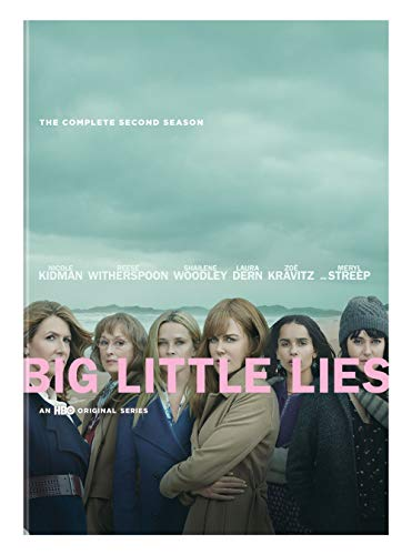DVD : Big Little Lies: Complete Second Season (2 Discos)