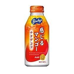 (お徳用ボックス)  バヤリース 新食感果汁感じるマンゴーボトル 410g×24本