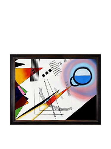 Wassily Kandinsky Untitled Framed Hand-Painted Reproduction