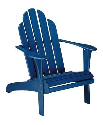 Linon Woodstock Adirondack Lounge Chair